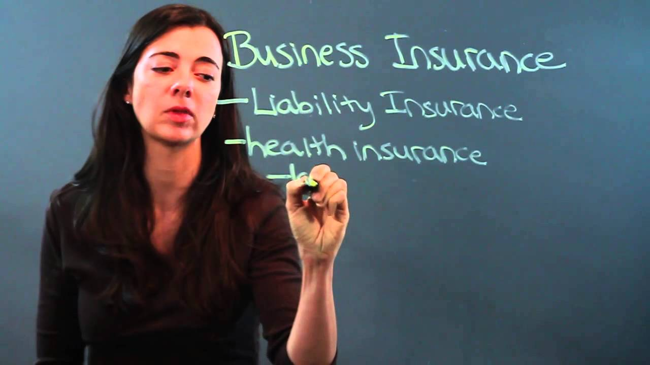 Definition of Business Insurance - YouTube
