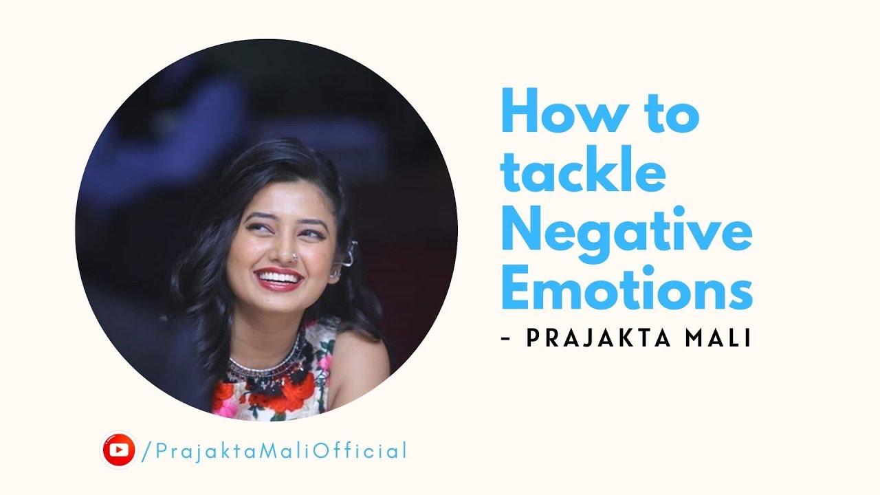 How to tackle Negative Emotions | Prajakta Mali | Chant Mantras | ॐ नमः शिवाय