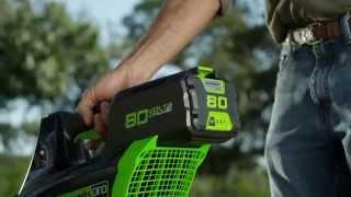 Greenworks 80V Pro Leaf Blower with Steve Nielsen