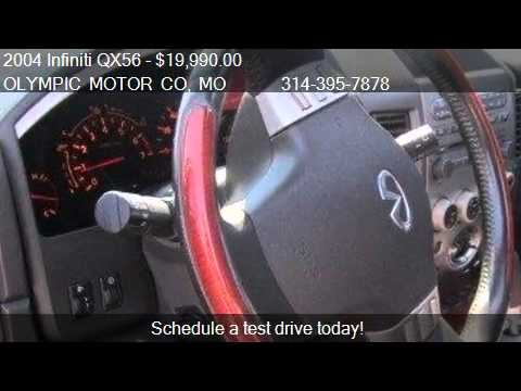 2004 Infiniti Qx56 Certified For Sale In Florissant Mo