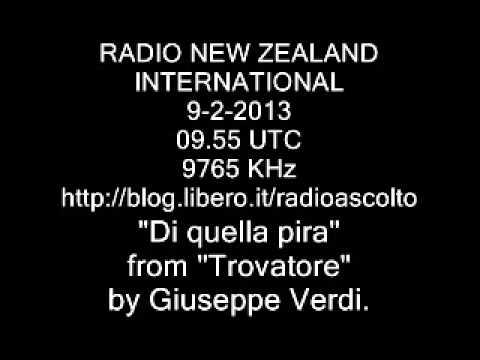 RADIO NEW ZEALAND DI QUELLA PIRA BY GIUSEPPE VERDI