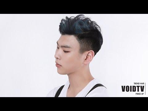 남자 헤어 스타일 Men S Hair Slick Back Style Youtube