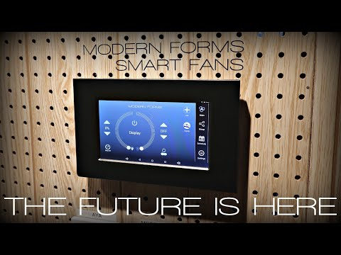 modern-forms-advanced-wifi-tablet-ceiling-fan-control-|-unboxing,-installation,-demonstration