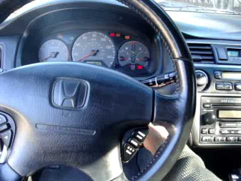 Temple Of Vtec >> 2001 Honda Accord Couple 3.0L VTEC V6 - YouTube