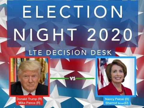 Election Night 2020   Donald Trump vs Nancy Pelosi