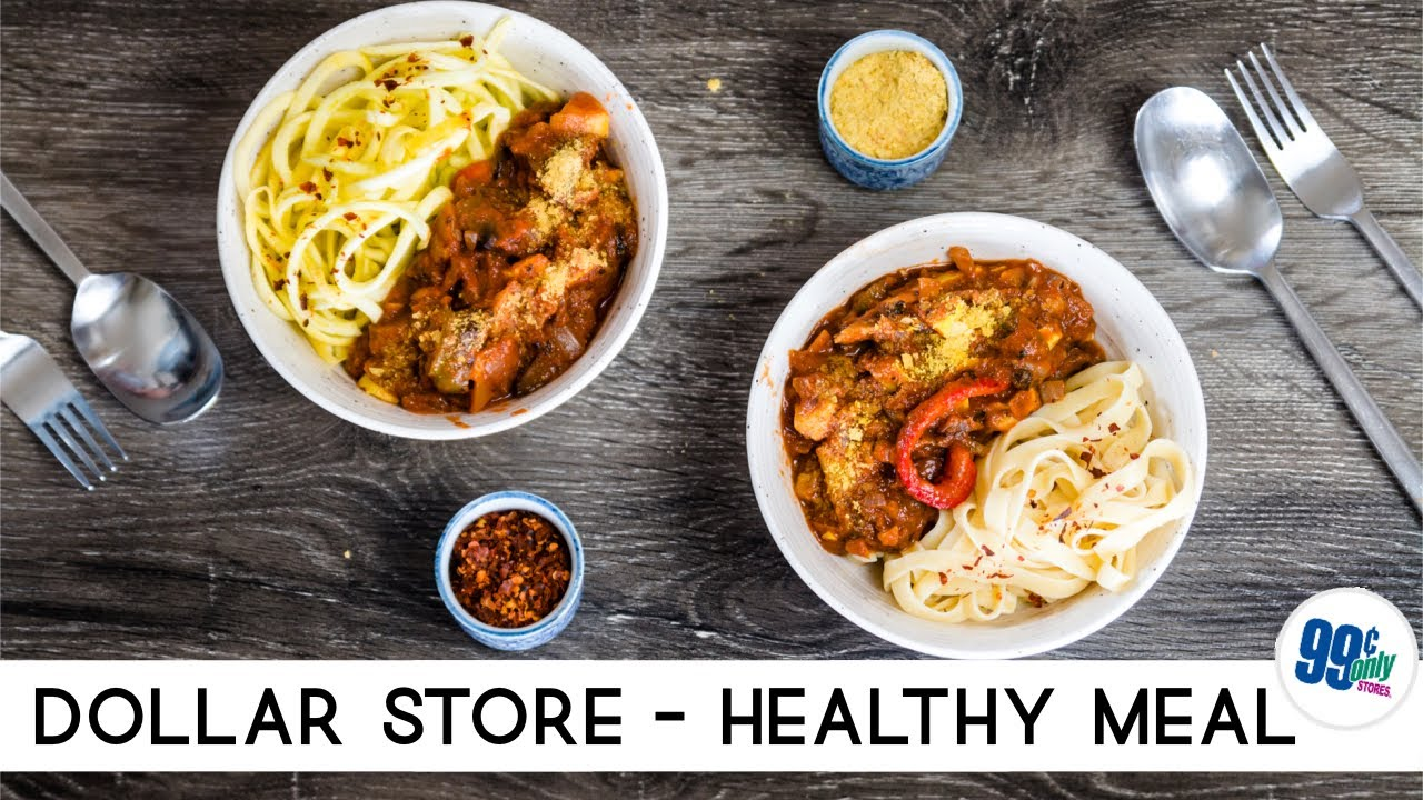 99 Cent Store Food Recipes healthy vegan meal from the 99 cent store | dollar store & budget shopping under $10 | vegan michele