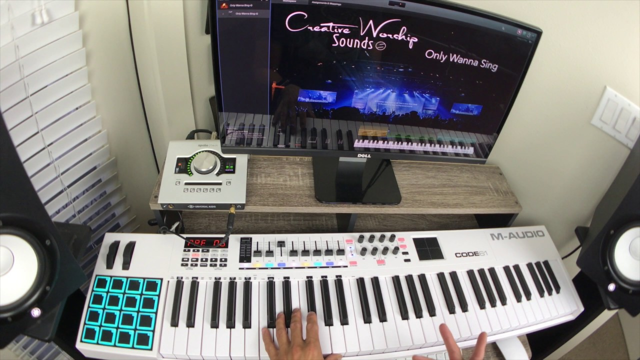 Only Wanna Sing-Hillsong Y&F Mainstage Patch and Tutorial