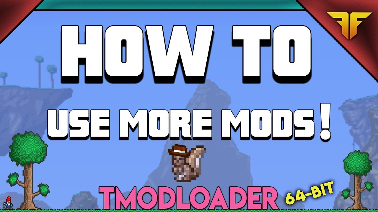 How to use more mods in Terraria: tModLoader 64Bit