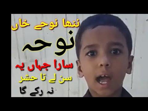 syed raza abbas shah and qurban jafri nohay