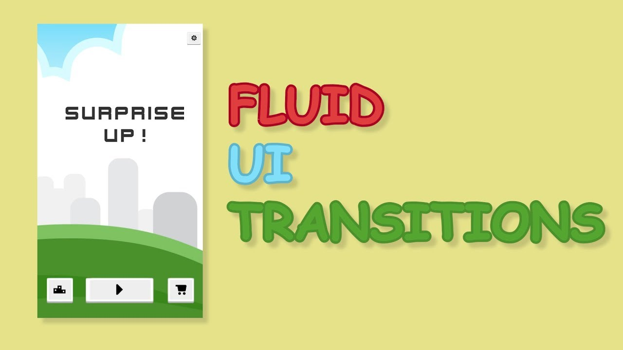 How to do Fluid UI Transitions with Unity – Your Guide to Free High