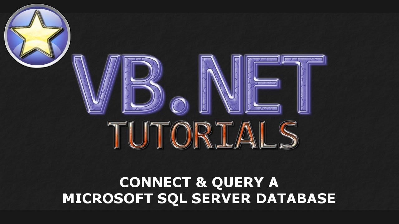 A visual basic. Net database project.