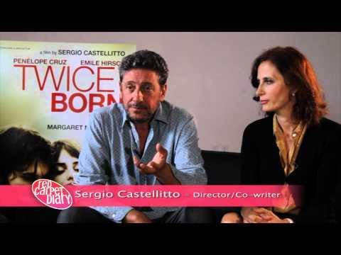 Sergio Castellitto and Margaret Mazzantini at TIFF 2012 for Twice Born