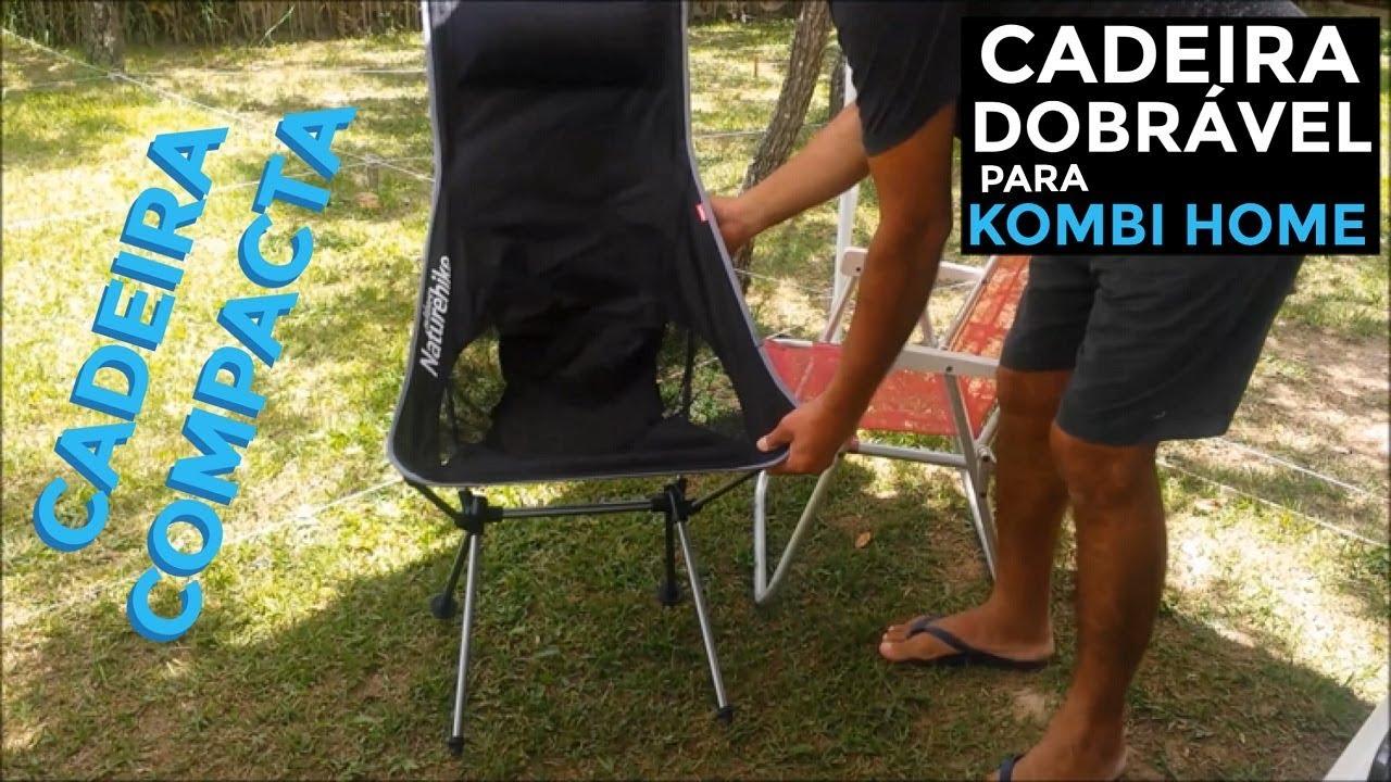 CADEIRA DOBRÁVEL PARA KOMBI HOME E CAMPING - Naturehike NH17Y010