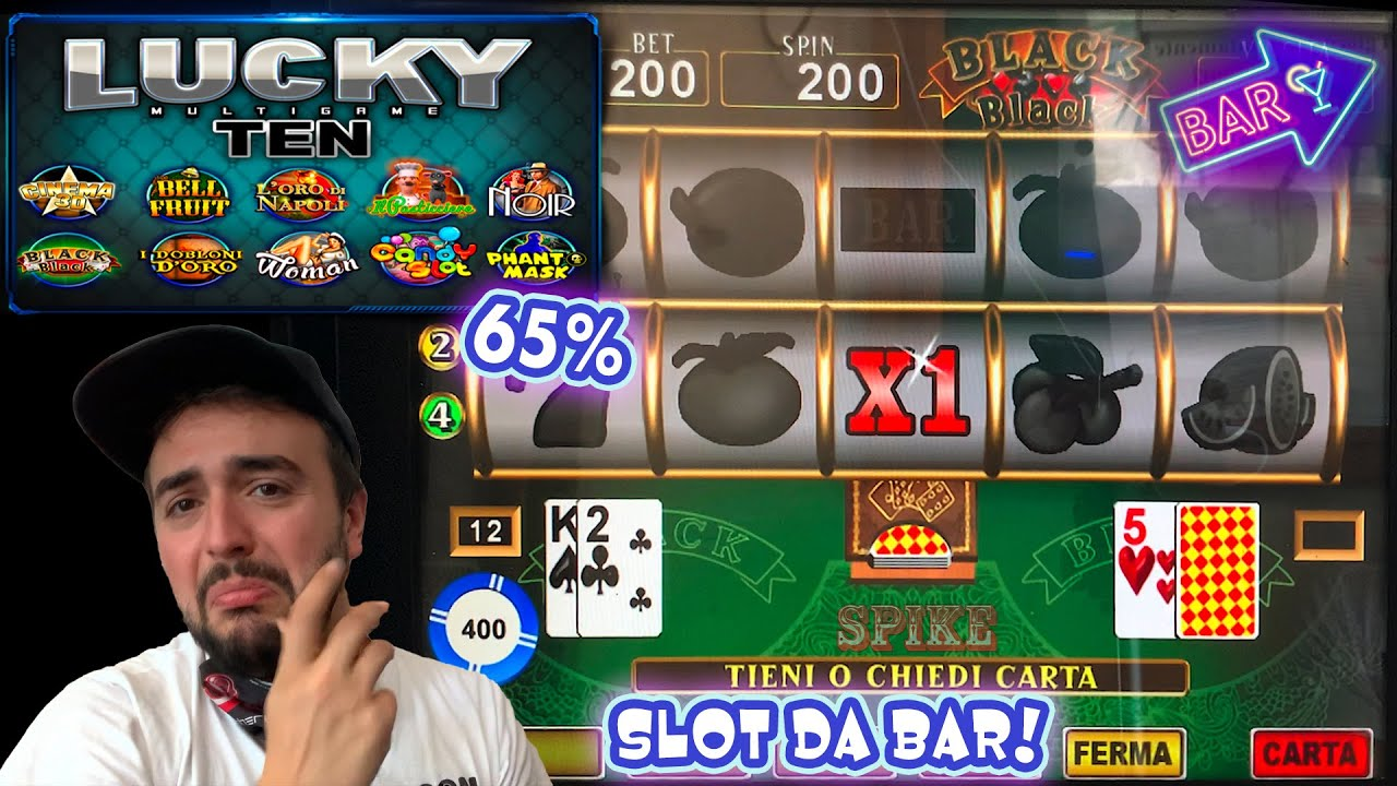 SLOT MACHINE da BAR - Scopriamo la LUCKY TEN al 65%