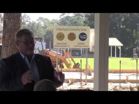 Naylor Community Center Ground Breaking Ceremony - 2017-08-15