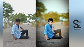 Photoshop Cc Tutorial : Outdoor Portrait Edit(In Tamil)