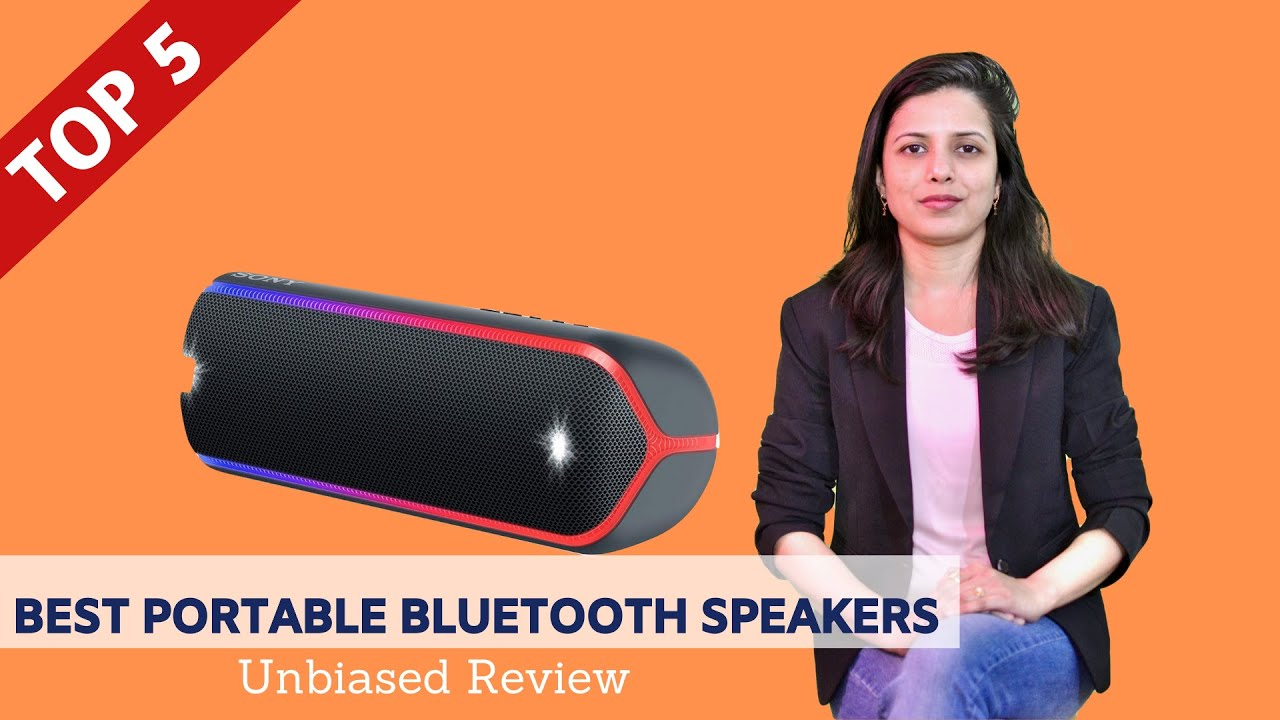 Top 5 Best Portable Bluetooth Speakers In India With Price 2020 Review Comparison Youtube