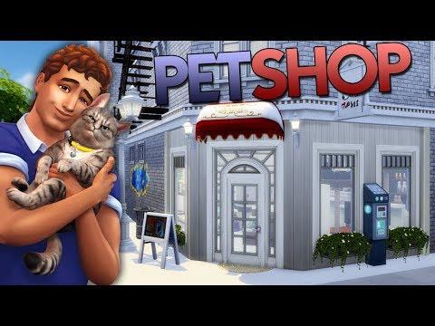 PetShop (Com nova expansão Gatos e Cães) Construção The Sims 4 - Speed Build