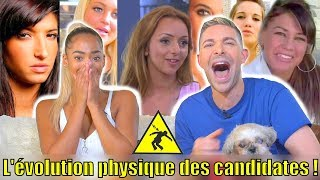 L' INCROYABLE ÉVOLUTION PHYSIQUE DES CANDIDATES DE TÉLÉ-RÉALITÉ ! (Feat: Sephora ) *