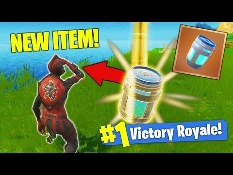 *NEW* LEGENDARY Chug Jug In Fortnite Battle Royale!