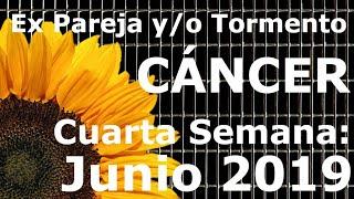 Cancer. Ex pareja. Ultima Semana Junio 2019 😢💔