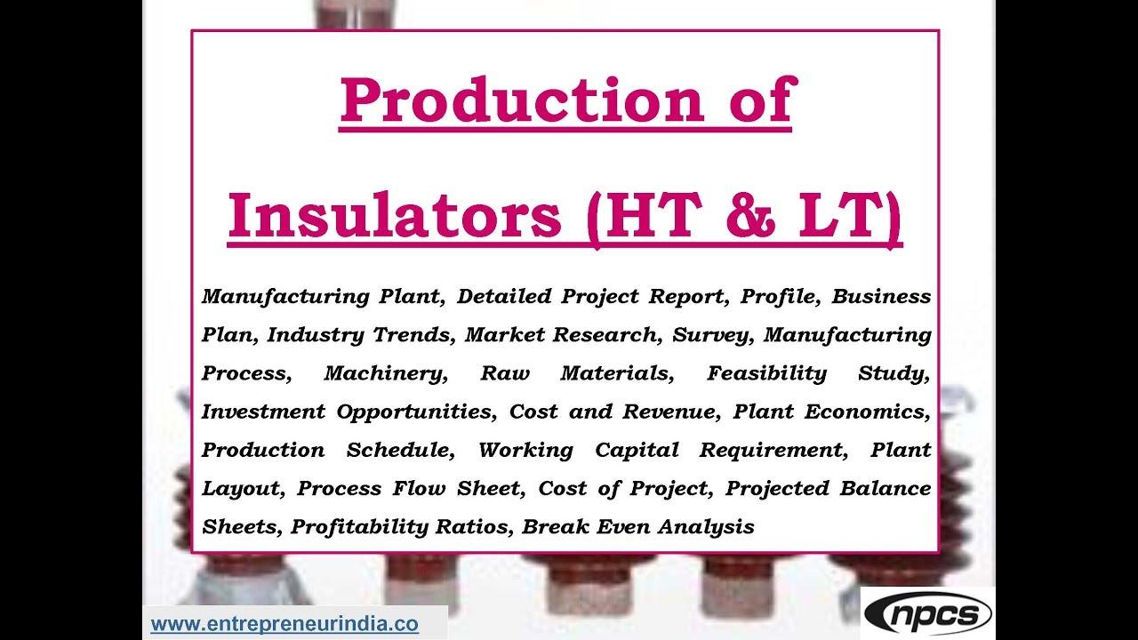 Production Of Insulators Ht Lt