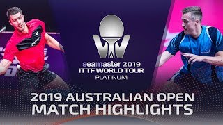 Patrick Franziska vs Mattias Falck | 2019 ITTF Australian Open Highlights (1/4)