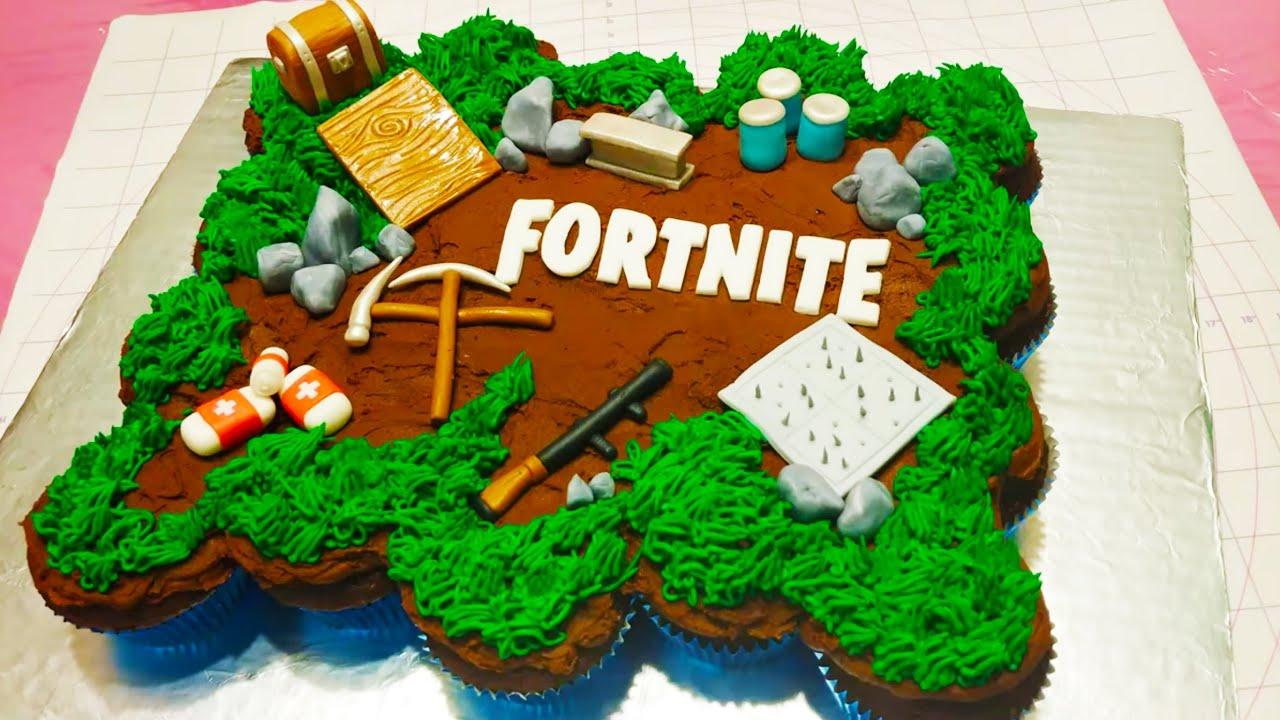 Fortnite Birthday Cake Youtube