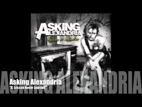 ASKING ALEXANDRIA - A Lesson Never Learned