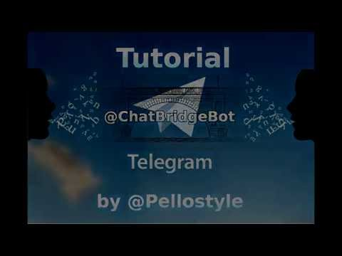 [Telegram Tutorials] Chat Bridge Bot - A bridge for reported people