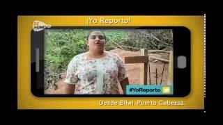 Yo Reporto desde Bilwi la contaminación de la playa