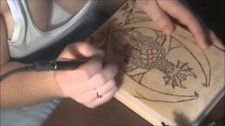 Gothic Tarot Deck Box