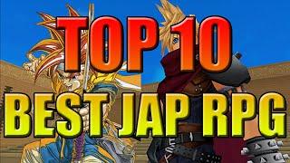 Top 10 Best Japanese RPG Game