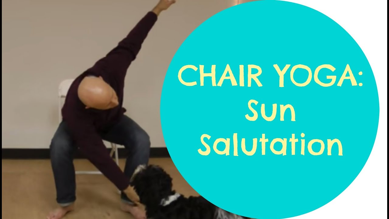 Youtube Chair Yoga Wayfair Lounge Cushions Sun Salutation