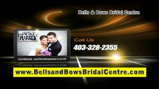 Canadian Bride Honeymoon - Wedding Gowns Grad Dresses by Bells & Bows Calgary Vancouver Edmonton