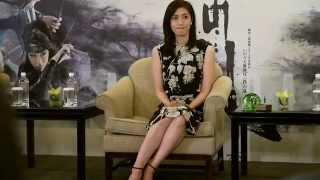 天海祐希表示,能代表所有演員來到台灣,感覺非常榮幸。