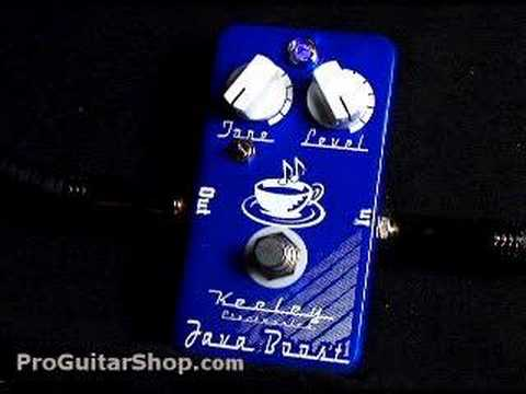 Keeley Java Boost Treble Booster Pedal