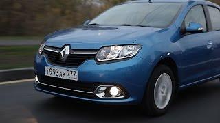 Renault Logan, тест-драйв