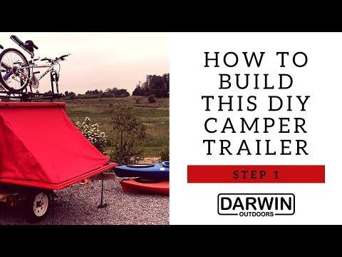 DIY Camper Instructions: Step 1 - How to Build a Homemade Camper Trailer