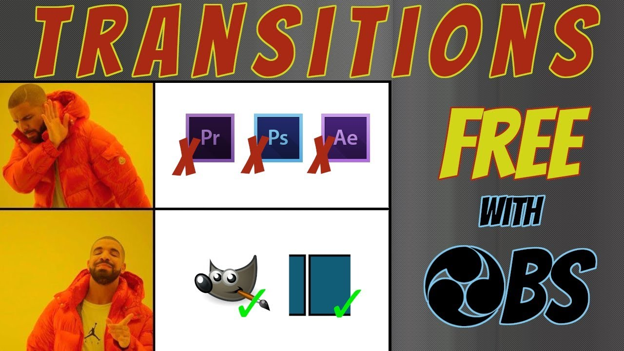 Custom Stinger Transitions for OBS – chillbrobagg1ns Gaming