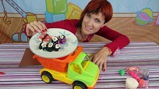 Готовим Суши - пластилин для детей - Play Doh (Play Dough) - Готовим вместе с Машей(, 2014-11-16T21:01:03.000Z)