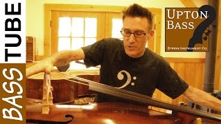 Upton Bass: Double Bass String Change in Ten Minutes!