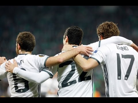 St Etienne 0-1 Manchester United | MKHITARYAN GOAL WINS IT!