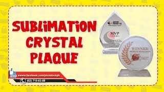 Sublimation Crystal Plaque