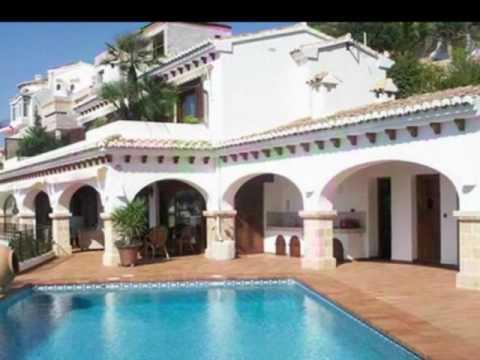 Moraira Costa Blanca Villa Avec Piscine Location Villas Costa Blanca
