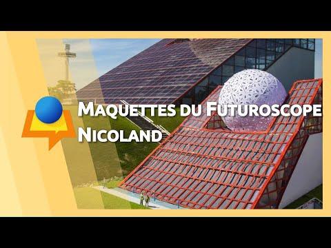 Maquettes du Futuroscope – Nicoland