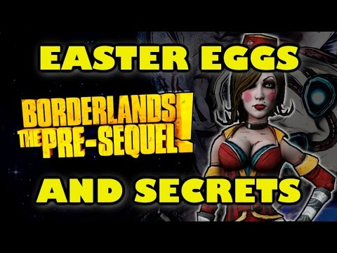 Borderlands The Pre-Sequel Easter Eggs And Secrets HD