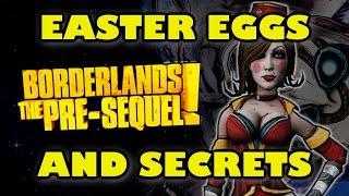 Borderlands The Pre-Sequel Easter Eggs And Secrets HD