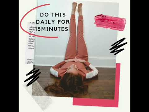 health benefits of legs up the wall pose// legs up the