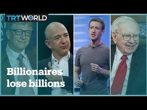 The world's richest people lost $511 billion in 2018